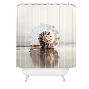 Bree Madden Seashell Single Shower Curtain by East Urban Home Modern