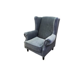 August Grove Caldervale Wingback Chair
