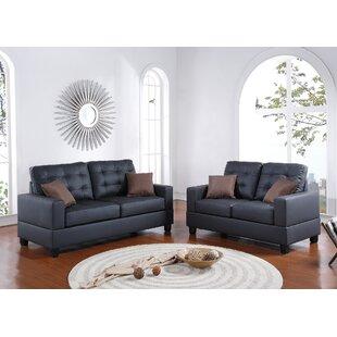 Draeger 2 Piece Living Room Set