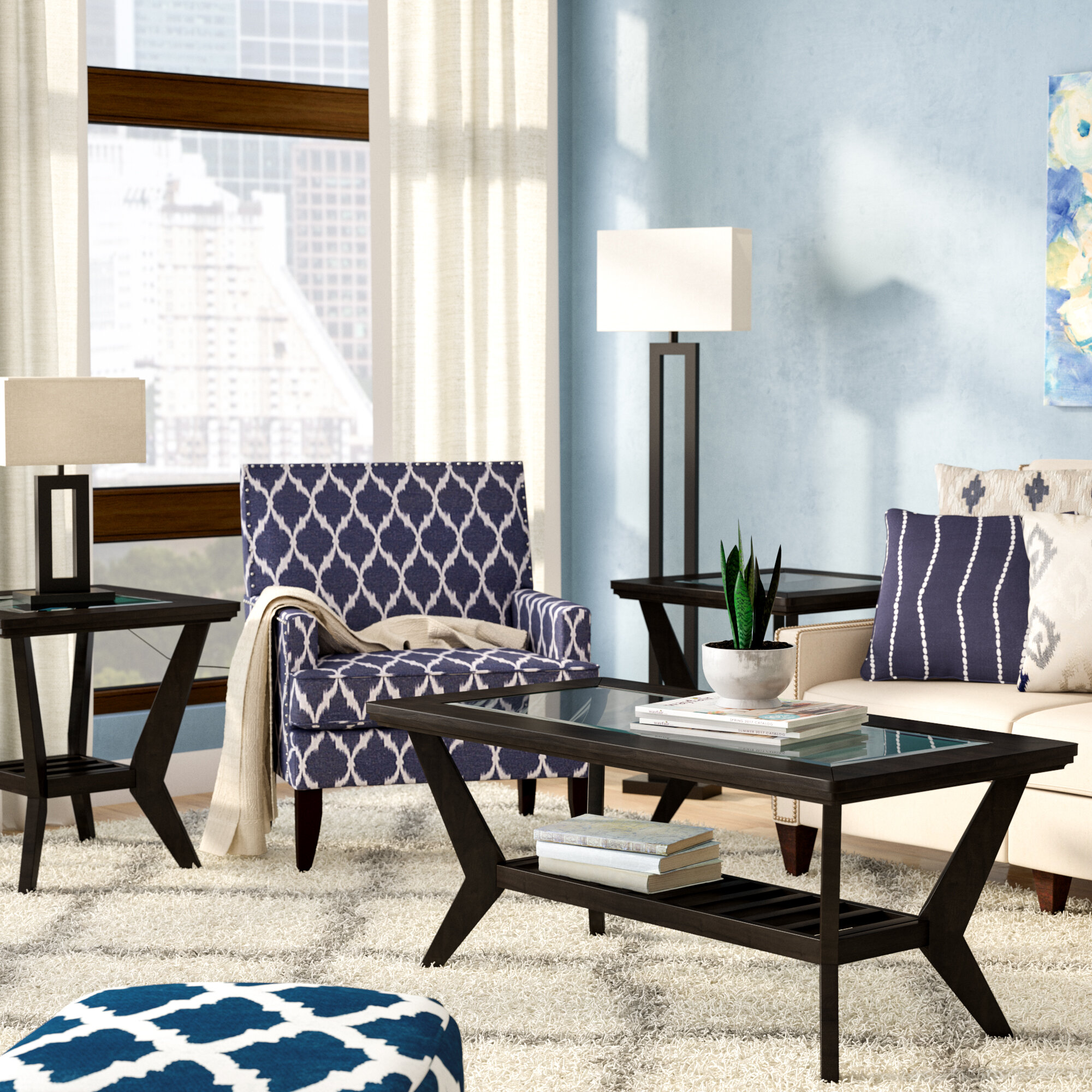 bailey coffee wayfair reviews set piece pdx latitude table furniture run