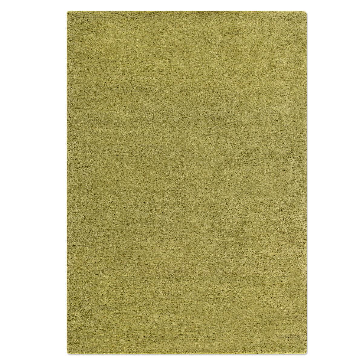 Prolana Naturbettwaren Hand Tufted Wool Olive Green Rug Wayfair Co Uk
