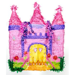 Castle Pinata Paper Disposable Party Favor