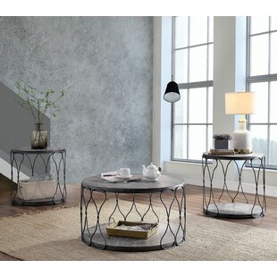 Kuhn 3 Piece Coffee Table Set