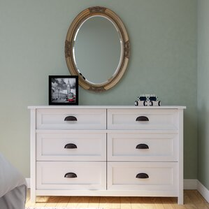 Coombs 6 Drawer Double Dresser by Darby Home Co