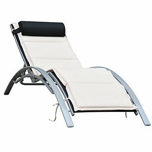 Shafer Reclining Chaise Lounge with Cushion