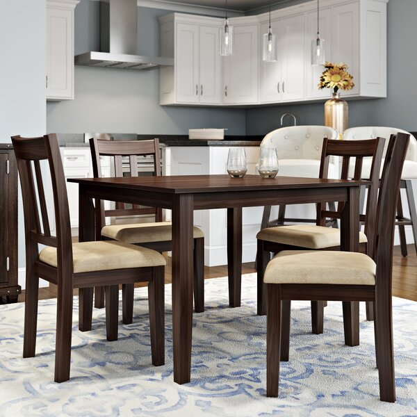 Dining Table Set alcott hill primrose road 5 piece dining set & reviews | wayfair