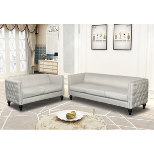 Annuziata 2 Piece Living Room Set by House of Hampton