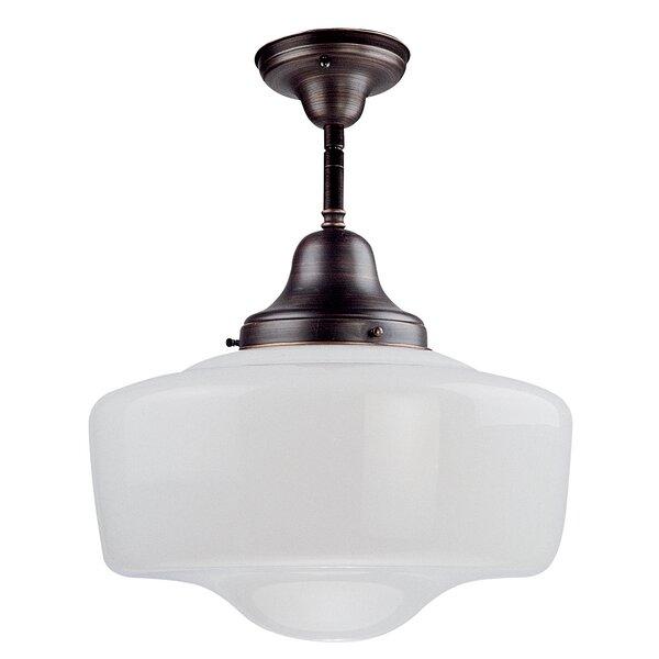 Schoolhouse Light Semi Flush Wayfair