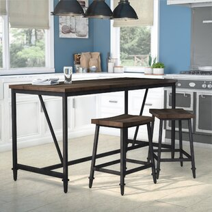 Lansing Height 3 Piece Pub Table Set by Gracie Oaks