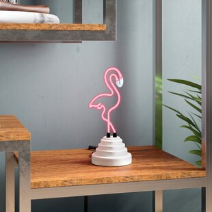 Flamingo Neon Table Lamp By Wrought Studio