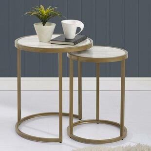 Mercer41 Selzer 2 Piece Nesting Tables