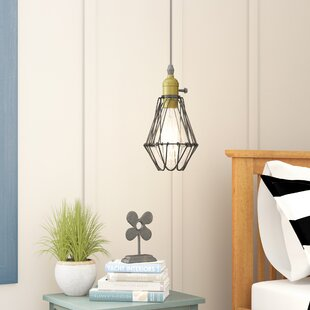 Beachcrest Home Armona 1-Light Geometric Pendant