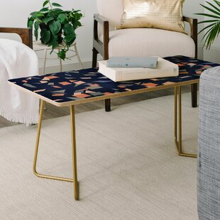 Best Mareike Boehmer Sketched Confetti Coffee Table by East Urban Home Reviews (2019) & Buyer's Guide