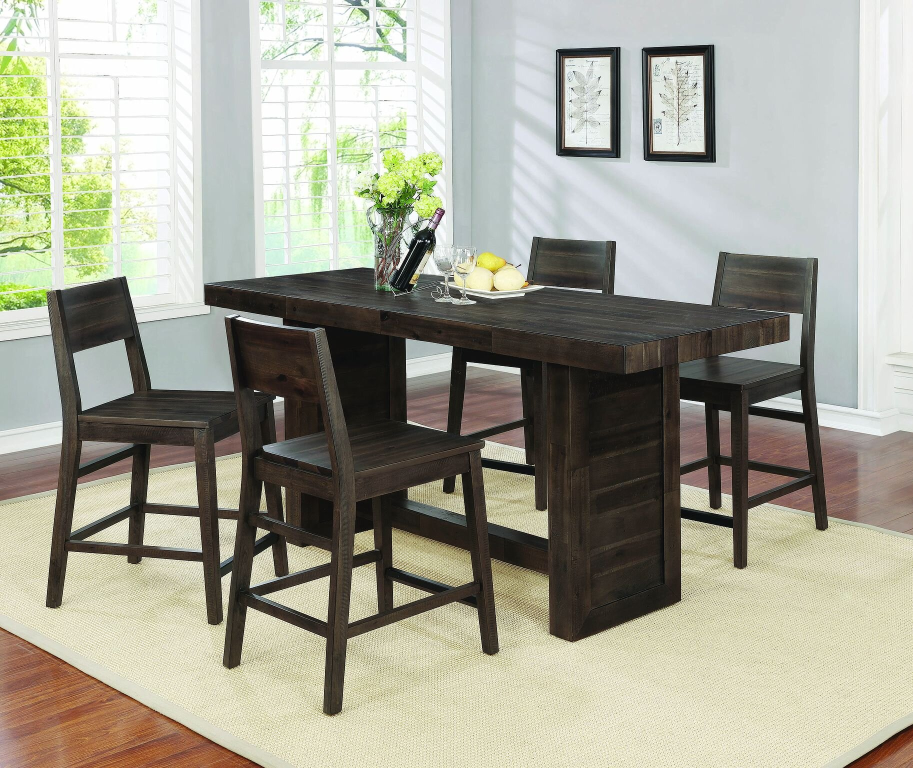 Cabin Lodge Counter Height Kitchen Dining Room Sets You Ll Love In 2021 Wayfair