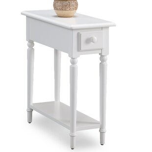 Coastal Notions End Table With Storage by Leick Furniture
