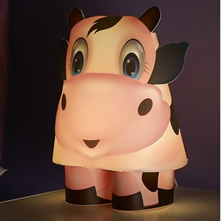 Compare Cow 10.63 Table Lamp By Kreativ Lighting