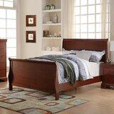 LaGuardia Lovely Sleigh Bed byAlcott Hill
