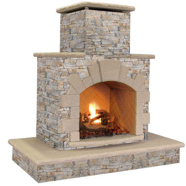 Super Outdoor Fireplaces Youll Love In 2019 Wayfair Home Interior And Landscaping Mentranervesignezvosmurscom