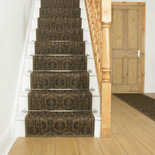 Acuna Flatweave Brown Stair Runner Image