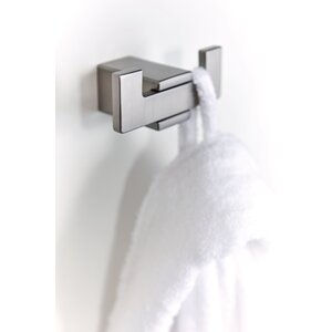Kyvos Wall Mounted Double Robe Hook