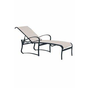Shoreline Reclining Chaise Lounge by Tropitone Savings