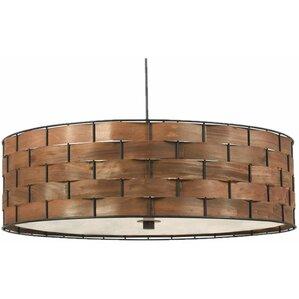 Lino 3-Light Drum Pendant  sc 1 st  AllModern & Modern Drum Pendant Lighting   AllModern azcodes.com