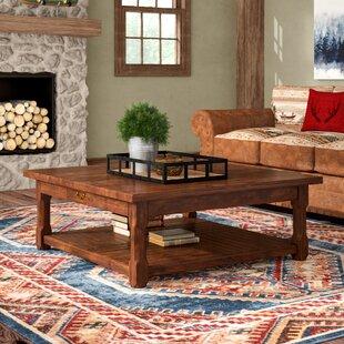 Great Price Cheyenne Coffee Table by Loon Peak Reviews (2019) & Buyer's Guide