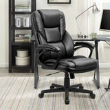 Lollie High Back Swivel Office Executive Chair by Winston Porter