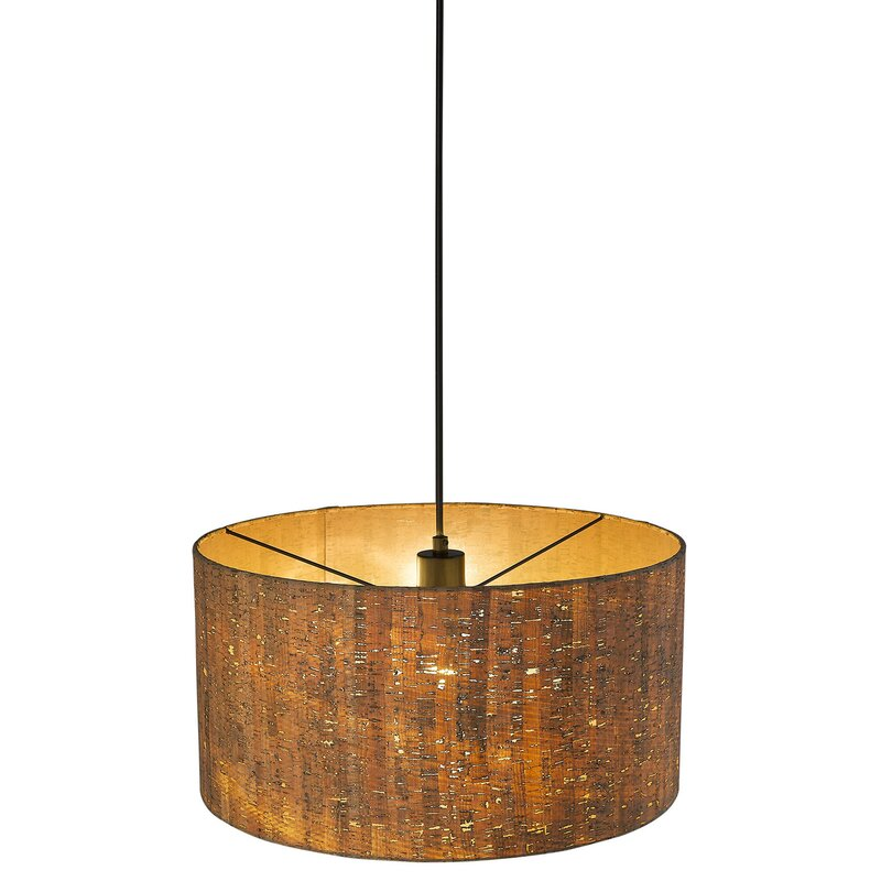 George Oliver Hatchett 1 Light Single Drum Pendant Wayfair