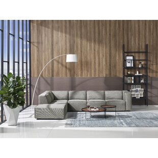 Summertown Modern Modular Sectional with Ottoman