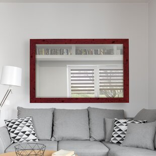 Hitchcock Butterfield Company Barnwood Red Wall Mirror