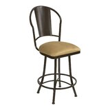 Knorr Swivel Bar & Counter Stool by Winston Porter