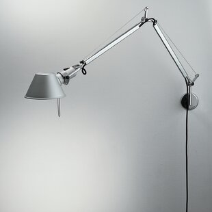 Artemide Tolomeo Mini 1-Light Plug-in Swing Arm Lamp