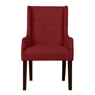 Larrabee Wood Legs Arm Chair by Red Barrel Studio