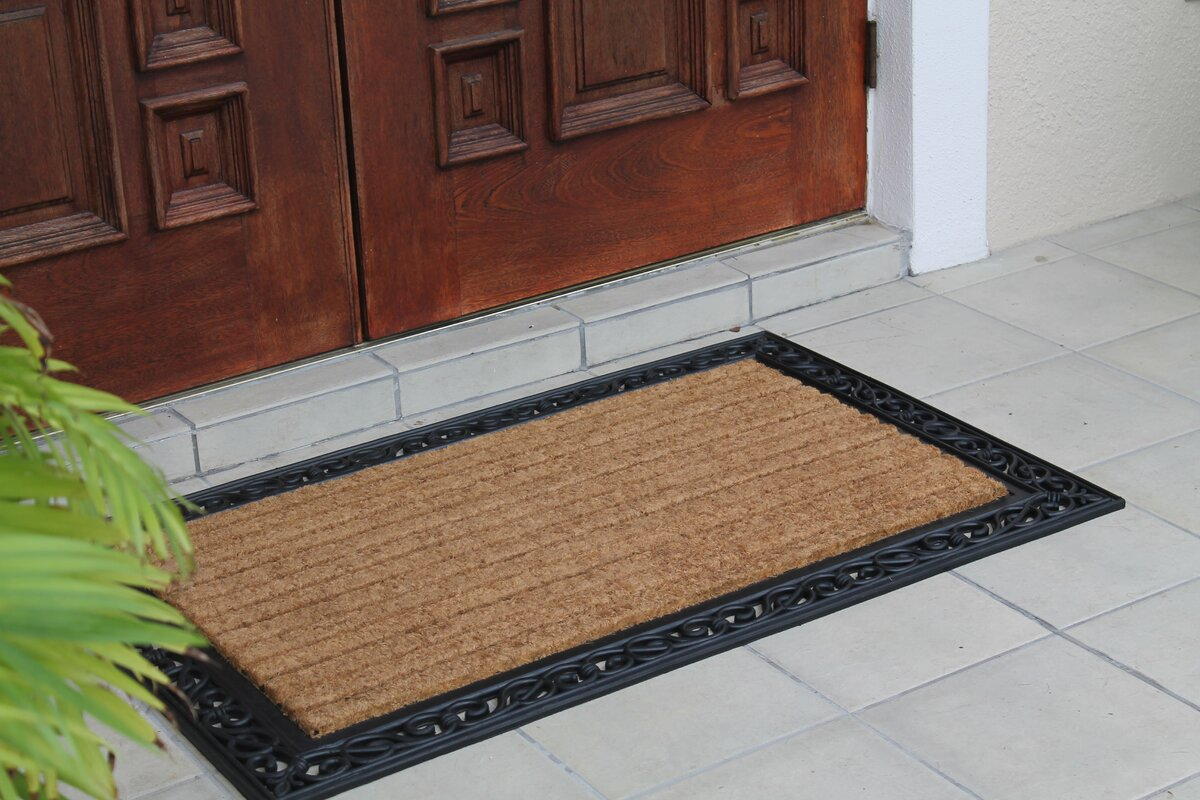 A1 Home Collections LLC Molded Double Doormat & Reviews | Wayfair