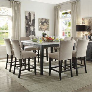 Jeannie 9 Piece Pub Table Set by Canora Grey
