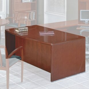 Jusino 3-Piece Standard Desk Office Suite