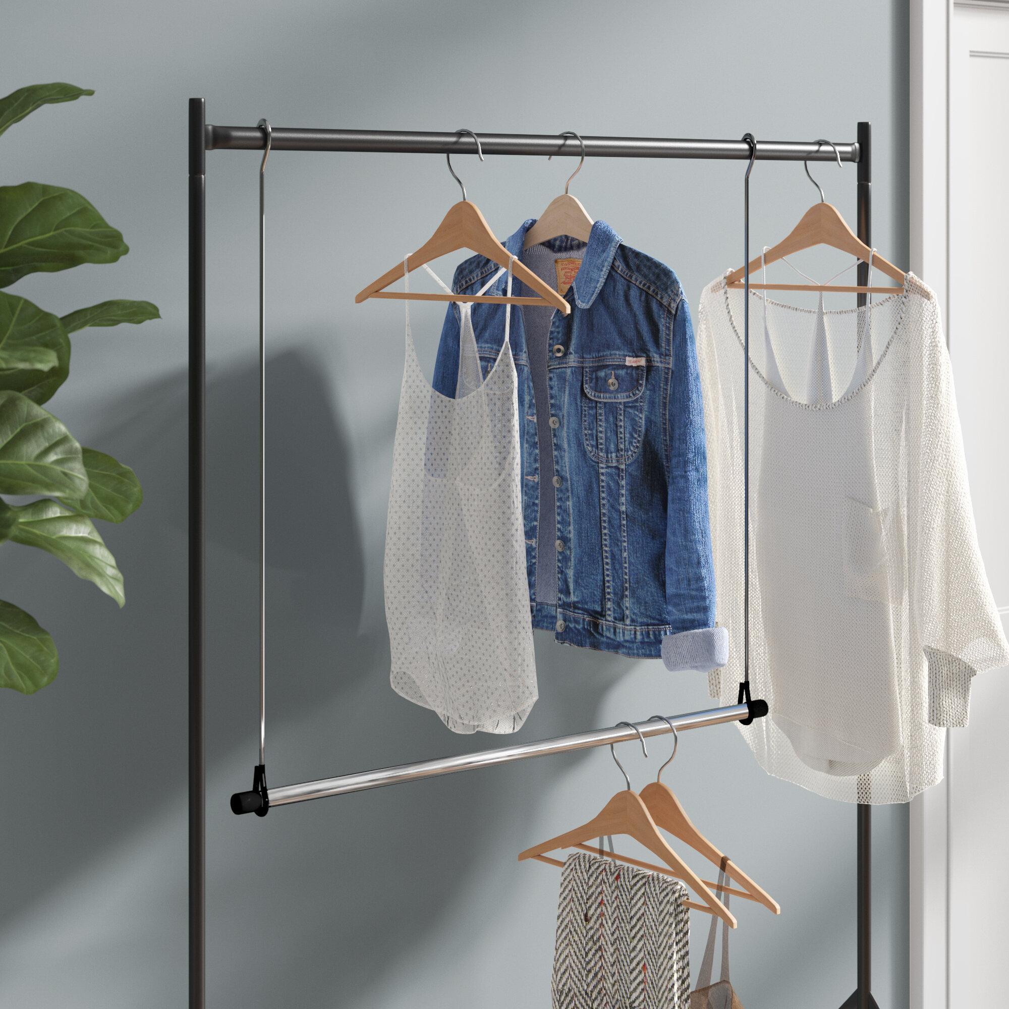 Cascio Hang Closet Rod Hanging Organizer