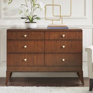 Eleanor 6 Drawer Double Dresser