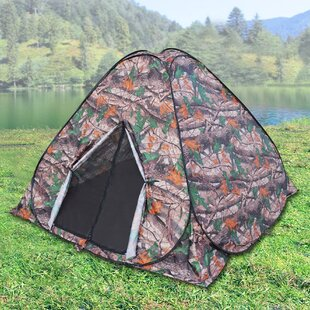 Strong Camel Portable Camouflage Camping Hiking Instant Mosquito Prevention Waterproof 3 Person Tent