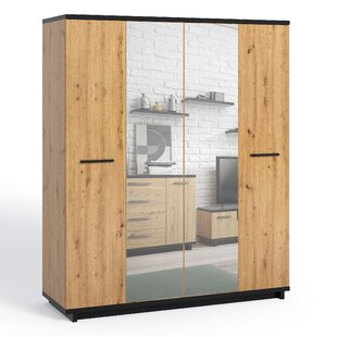 Metzger 4 Door Wardrobe By Union Rustic