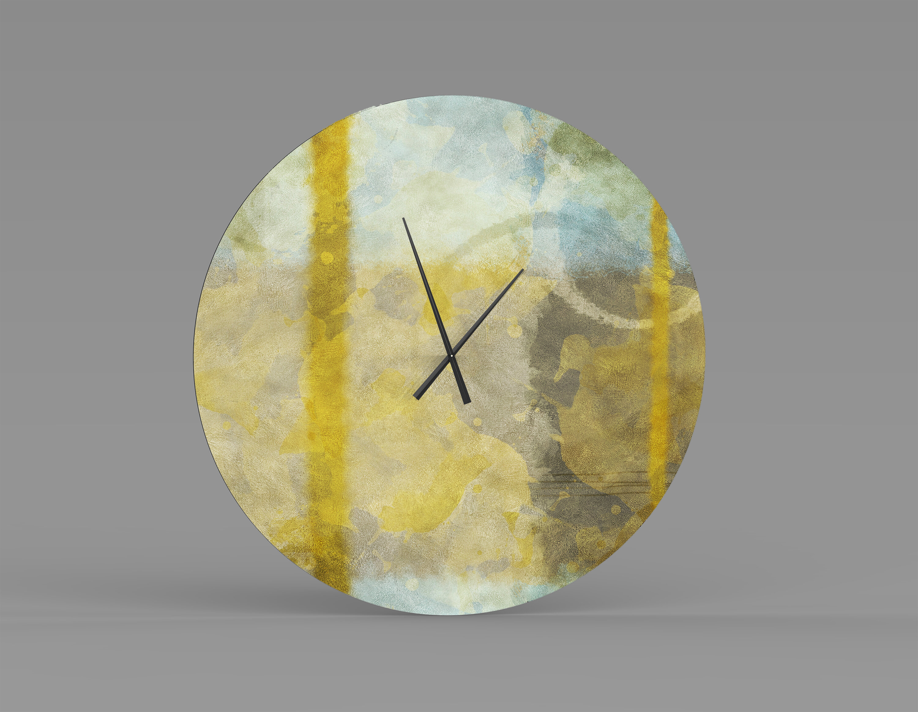 Orren Ellis Oversized Kassie Wall Clock Wayfair