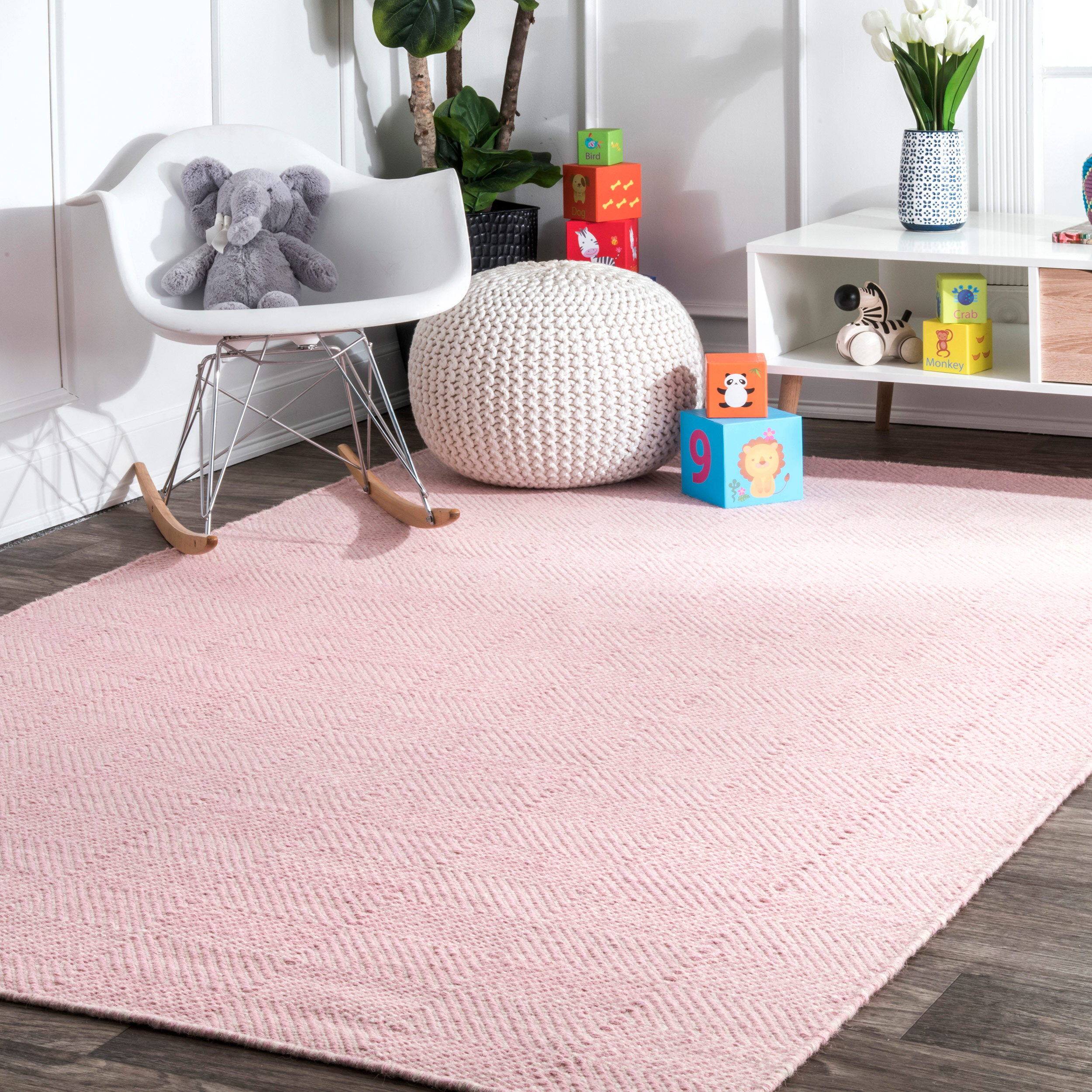 Geometric Pink Area Rugs You Ll Love In 2021 Wayfair