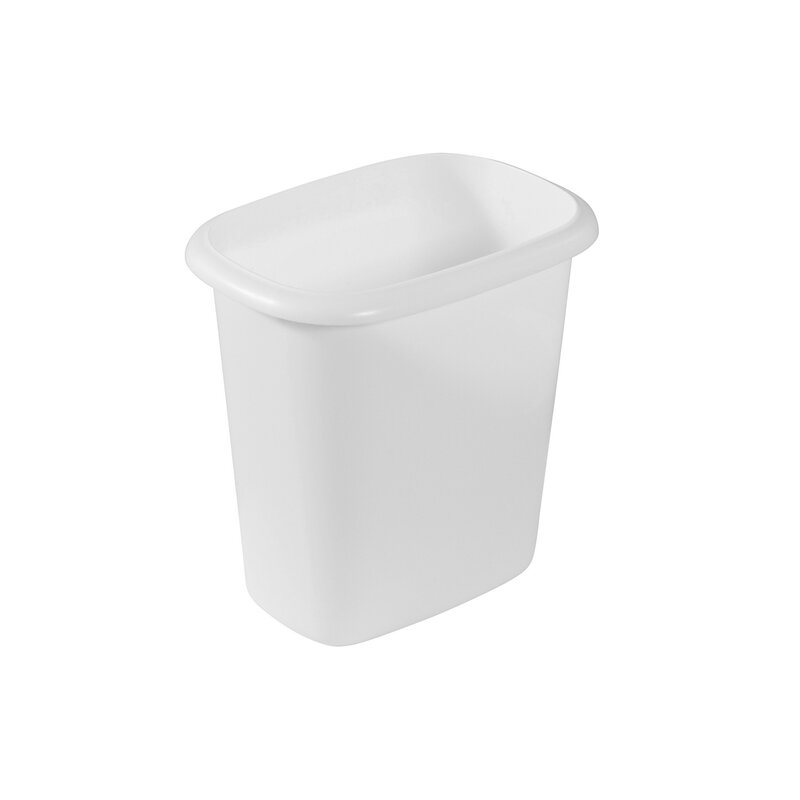 Rubbermaid 6 Quart Bedroom Bathroom And Office Wastebasket Trash Can Wayfair Ca