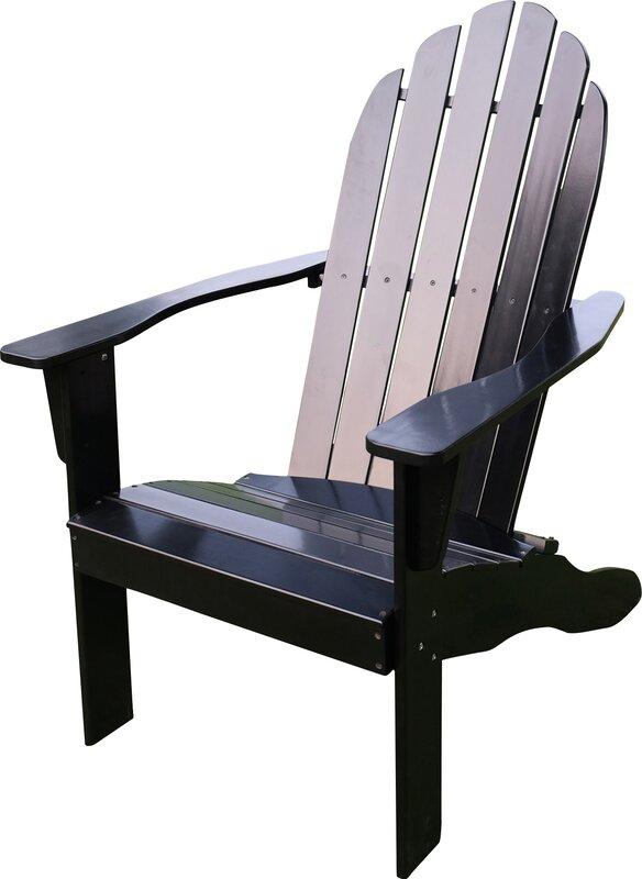 Fordyce Solid Wood Adirondack Chair