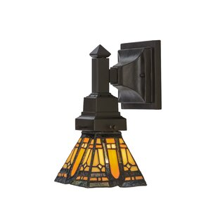 Find a Sierra Prairie Mission 1-Light Armed Sconce By Meyda Tiffany
