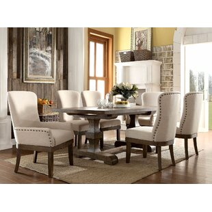 Gebhart 7 Piece Dining Set Gracie Oaks