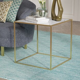 Price Check Theydon Faux Marble End Table By Willa Arlo Interiors