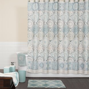 Gray And Teal Shower Curtain. Modena Shower Curtain Gray And Aqua  Wayfair