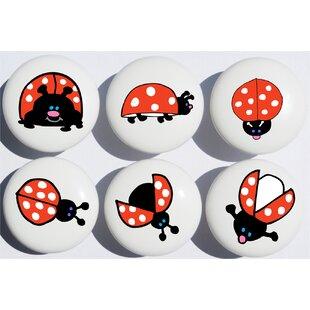 Ladybug Appliance Pull (Set of 6)